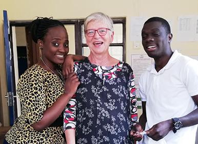 Elisabeth in Bwambo